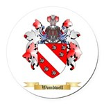 Wombwell Round Car Magnet
