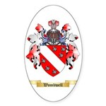Wombwell Sticker (Oval 50 pk)