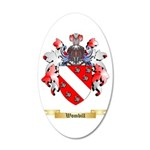 Wombill 20x12 Oval Wall Decal