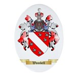 Wombell Oval Ornament