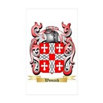 Womack Sticker (Rectangle 50 pk)