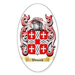 Womack Sticker (Oval 10 pk)