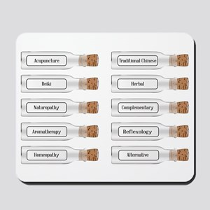 Alternative Health Remedies Mousepad