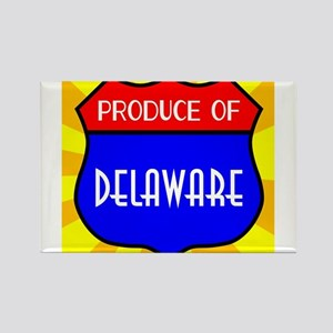 Produce Of Delaware Shield Magnets