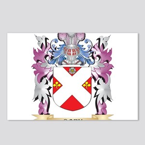 Cory Coat of Arms (Family Postcards (Package of 8)