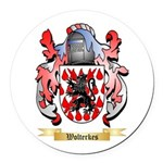 Wolterkes Round Car Magnet