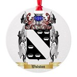 Wolston Round Ornament