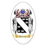 Wolston Sticker (Oval 50 pk)