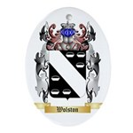 Wolston Oval Ornament