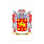 Wolstenholmes Sticker (Rectangle 50 pk)