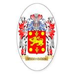 Wolstenholmes Sticker (Oval 50 pk)