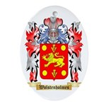 Wolstenholmes Oval Ornament