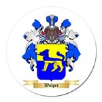 Wolper Round Car Magnet