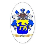 Wolper Sticker (Oval 50 pk)