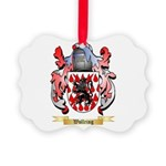 Wollring Picture Ornament
