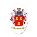 Woller Oval Car Magnet