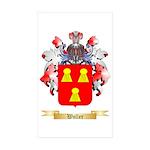Woller Sticker (Rectangle 50 pk)