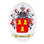 Woller Oval Ornament