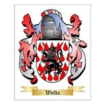 Wolke Small Poster