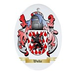Wolke Oval Ornament