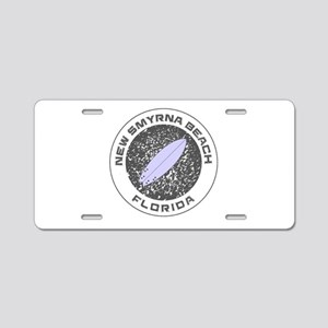 Florida - New Smyrna Beach Aluminum License Plate