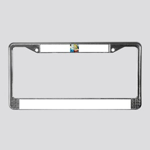 Classy Broads License Plate Frame
