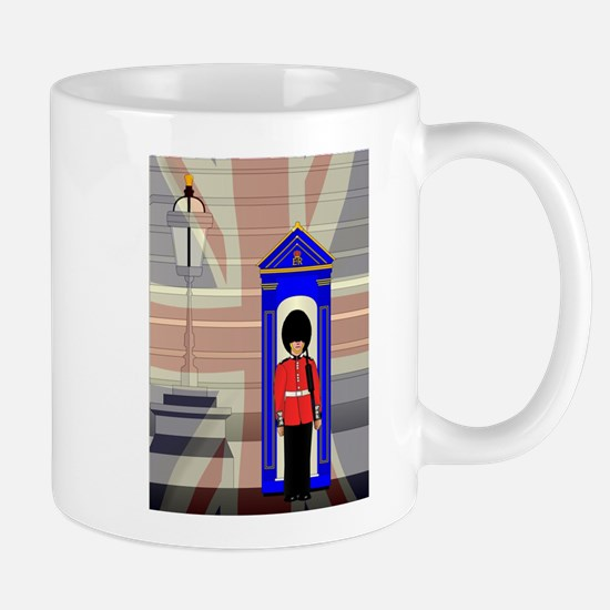Soldier On Royal Guard Duty Mugs