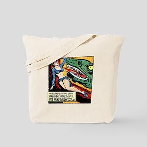 Futura vs. Space Monster Tote Bag