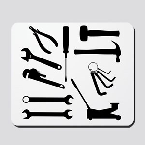 Motor Mechanics Tools Mousepad