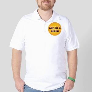 SON OF A BEACH Golf Shirt