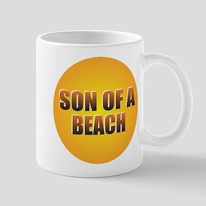 SON OF A BEACH Mugs
