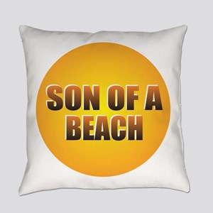 SON OF A BEACH Everyday Pillow