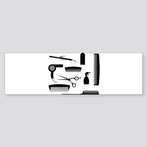 Salon Tools Bumper Sticker
