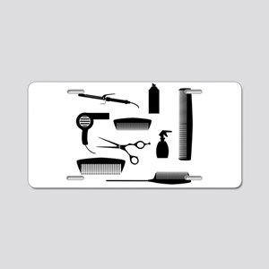 Salon Tools Aluminum License Plate