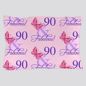 90 & Fabulous Birthday Pillow Case