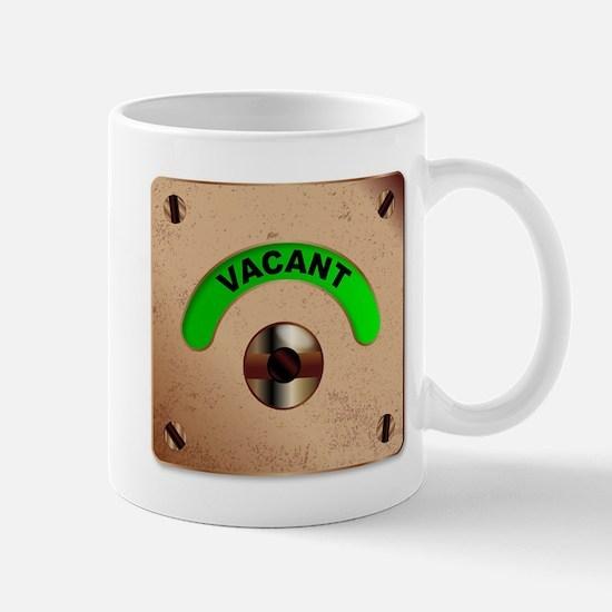 Loo Vacant Indicator Mugs