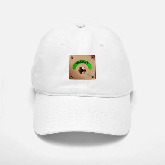 Loo Vacant Indicator Baseball Baseball Cap