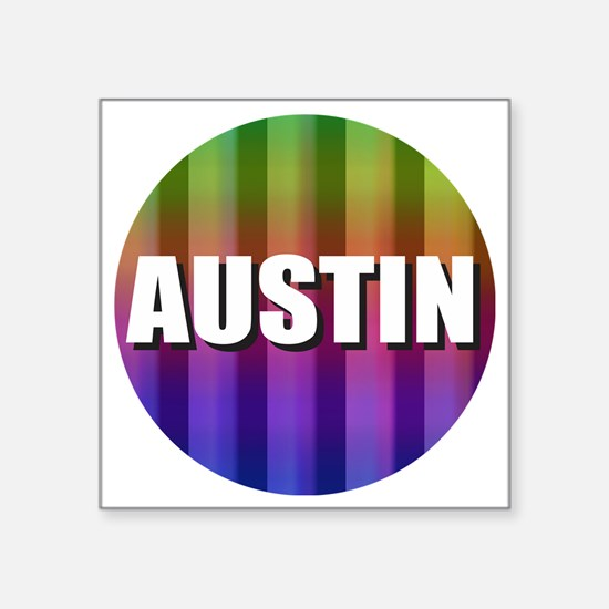 Austin Rainbow Sticker