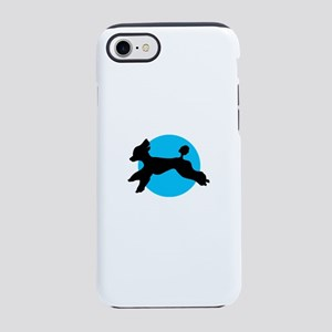 Blue Moon Poodle iPhone 8/7 Tough Case