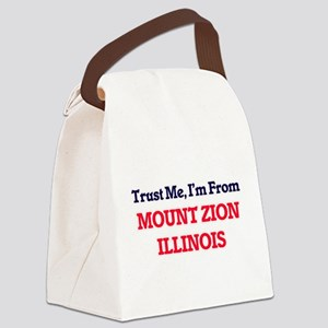Trust Me, I'm from Mount Zion Ill Canvas Lunch Bag