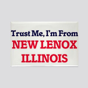 Trust Me, I'm from New Lenox Illinois Magnets