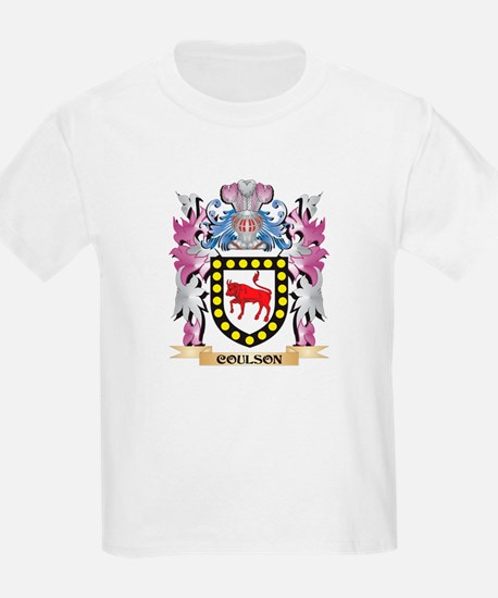 Coulson Coat of Arms (Family Crest) T-Shirt