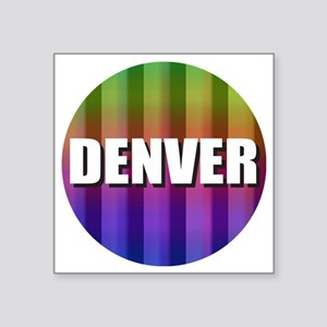 Denver Rainbow Sticker