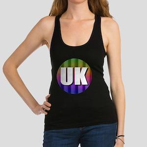 UK United Kingdom Racerback Tank Top