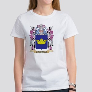Couronne Coat of Arms (Family Crest) T-Shirt