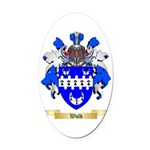 Wold Oval Car Magnet