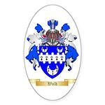 Wold Sticker (Oval 50 pk)