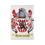 Wohlert Rectangle Magnet (100 pack)