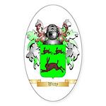 Witty Sticker (Oval 10 pk)