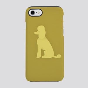 Royal Standard Poodle Seated iPhone 8/7 Tough Case